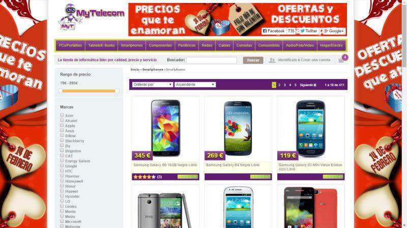 MyTelecom apuesta por las mejores marcas de informatica