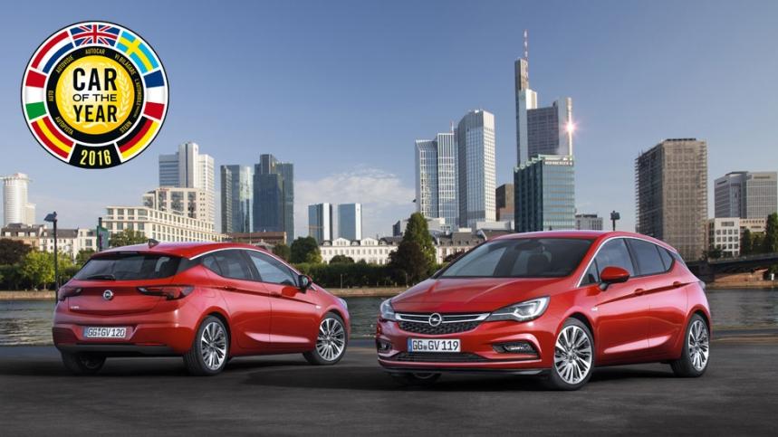 Opel Astra, coche del año