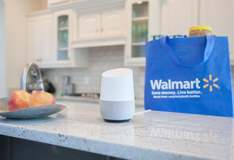 Google y Walmart