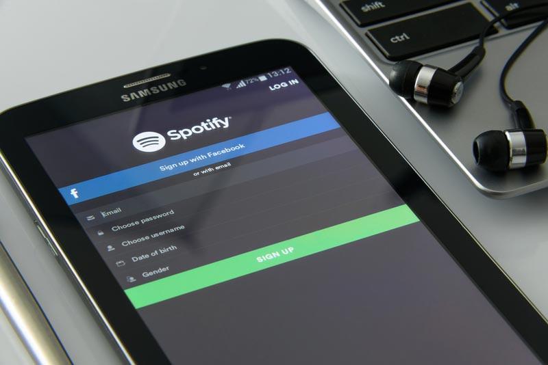 Marketing de Spotify