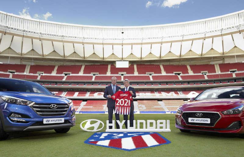 Hyundai patrocinio Atlético de Madrid