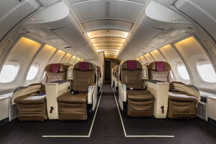 Servicios adicionales de la Clase Business de Wamos Air